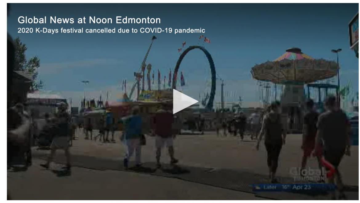Alberta: K-Days cancelled for a second year in Edmonton