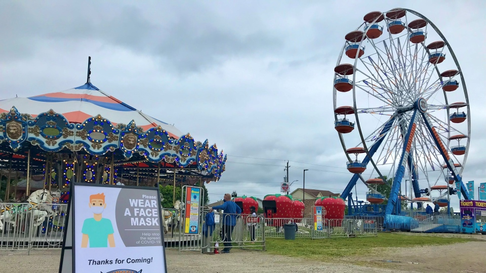 Ontario: Fried food, rides and games return as summer carnival opens at Paris fairgrounds